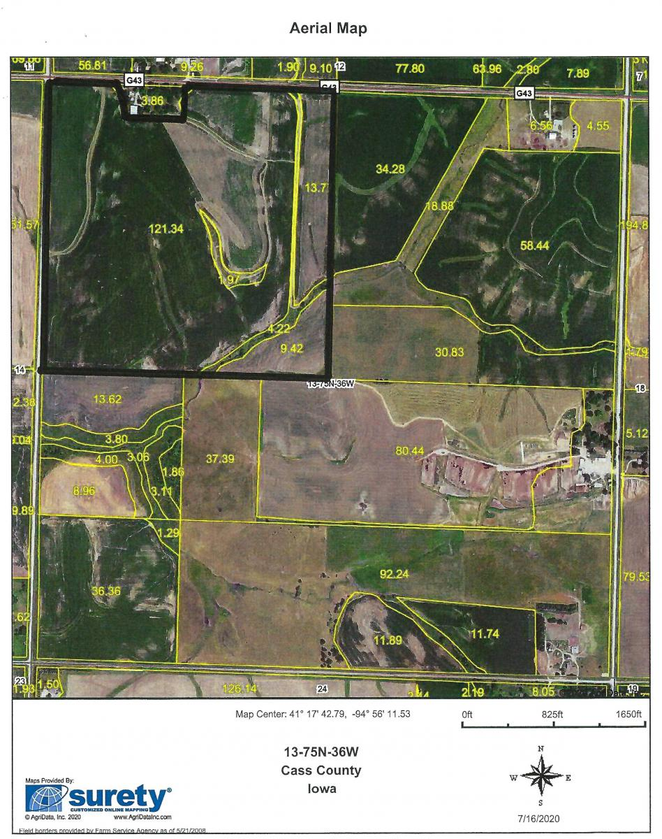 JoDeRo LLC 156.3 Acres M/L